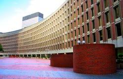 波士顿中心政府 库存照片