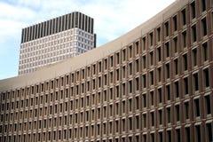 波士顿中心政府 免版税图库摄影