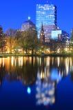 波士顿从事园艺公共 免版税库存照片
