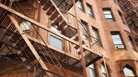 波士顿住宅家 免版税库存图片