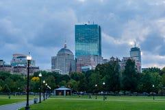 波士顿共同性公园 图库摄影