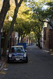 波士顿共同的静街 库存图片