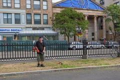 波士顿共同的` s风景工作者 库存照片