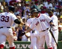 波士顿凯文millar Red Sox 库存图片