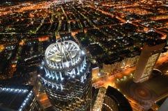 波士顿南边都市风景 免版税库存照片