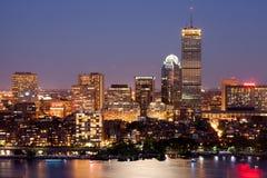 波士顿回到海湾 库存照片