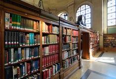 波士顿图书馆公共 库存图片