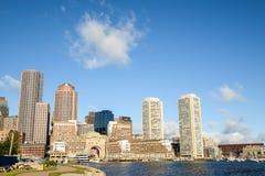 波士顿在Massachusettes 库存照片