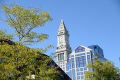 波士顿在Massachusettes 库存图片
