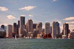波士顿地平线 免版税图库摄影