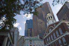 波士顿地平线 免版税库存图片