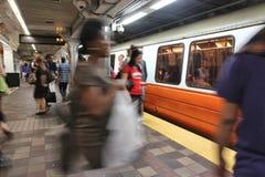 波士顿地铁 库存图片