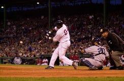 波士顿大卫ortiz Red Sox 免版税库存图片
