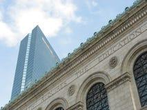 波士顿天空 库存照片