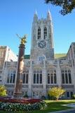 波士顿学院校园 库存图片