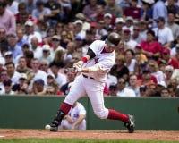 波士顿尼克松・ Red Sox小跑 免版税库存图片