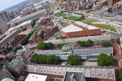 波士顿市场昆西美国 库存照片