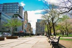 波士顿市 免版税库存照片