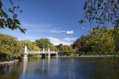 波士顿庭院马萨诸塞公共 库存照片