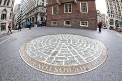 波士顿惨案 免版税库存图片