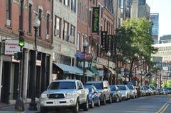 波士顿意大利一点 免版税库存照片