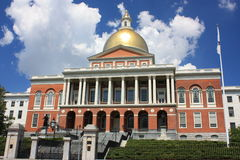 波士顿房子状态 库存图片
