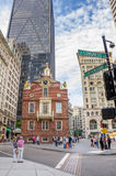 波士顿房子老状态 图库摄影