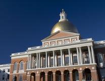 波士顿房子马萨诸塞状态 库存照片