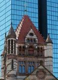 波士顿教会 库存照片