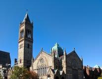 波士顿教会 免版税库存图片