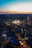 波士顿晚上 免版税库存照片