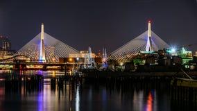 波士顿桥梁 免版税图库摄影