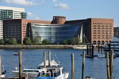 波士顿法院大楼 库存图片