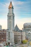 波士顿海关塔 库存照片