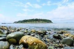 波士顿港口海岛国家公园 库存照片