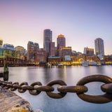 波士顿港口马萨诸塞 库存照片