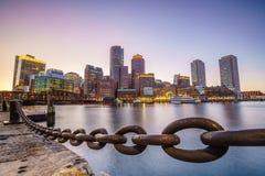 波士顿港口马萨诸塞 免版税库存照片