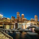 波士顿港口马萨诸塞 库存图片