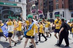 波士顿游行自豪感 图库摄影