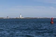 波士顿灯塔 库存照片