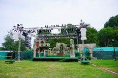波士顿绿色音乐会 库存图片