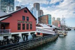 波士顿茶会博物馆-波士顿,麻省 免版税库存图片