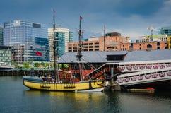 波士顿茶会博物馆-波士顿,麻省 免版税库存照片