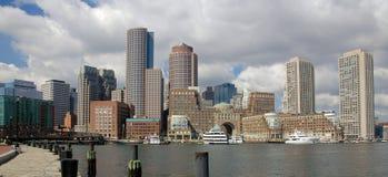 波士顿街市地平线 免版税库存照片