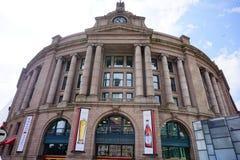 波士顿街市火车站 免版税图库摄影