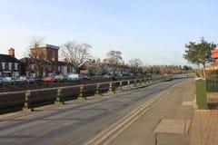 波士顿街道在英国 免版税图库摄影