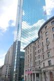 波士顿街道视图 库存图片