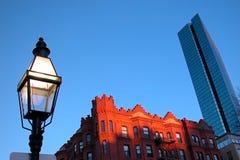 波士顿街道 库存照片