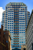 波士顿装饰地平线 免版税图库摄影