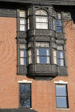 波士顿详细资料罐子视窗 免版税图库摄影